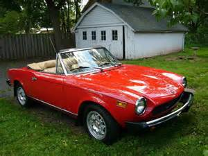 Fiat Spider Convertible For Sale 1978 Fiat 124 Spider Convertible Condition