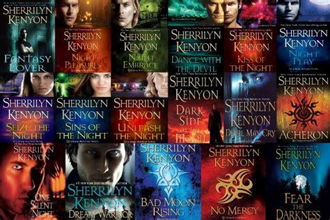 Series 10 Buku Sherrilyn Kenyon encounters with favorite paranormal books bookish temptations