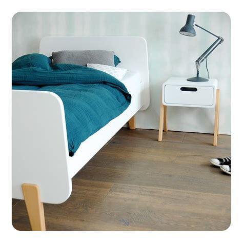 lit mm bois naturel 90x190cm laurette