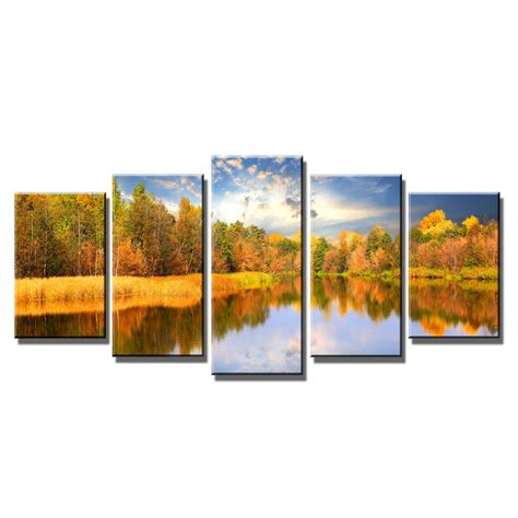 home decor wall posters modern autumn landscape canvas prints home wall