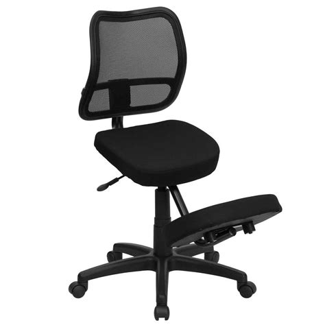 Kneeling Desk Chair by Ergonomic Kneeling Chair Plans