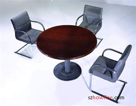 Circle Meeting Table Circle Conference Table Wmt 08 Wood Conference Table Meeting Table Howfine Office Furniture