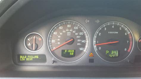 bulb failure position light volvo s60 volvo s60 bulb failure position light reset fiat