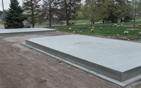 On Concrete Slab wyuka funeral home cemetery 187 updates on mausoleum constructionwyuka funeral home cemetery