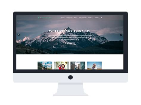 joomla photography template free et photography free responsive joomla photography template