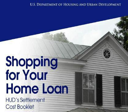 s c homebuyers hud s home loan phlet