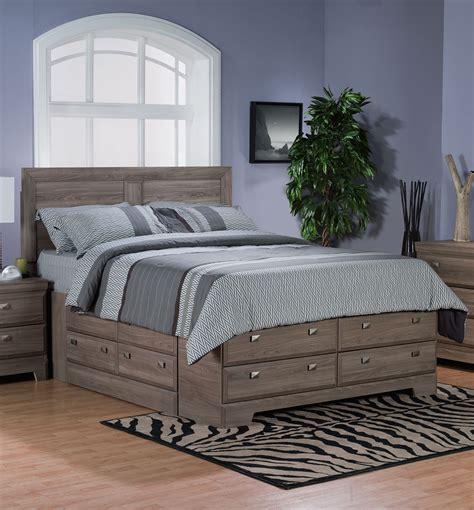 queen bedroom set with storage drawers furniture black upholstered queen bed with storage drawer