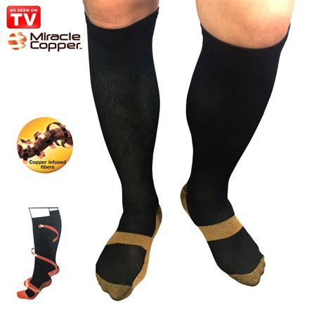 Miracle Socks Kaos Kaki Anti Capekpegallelah As Seen On Tv miracle copper socks stovepipe healthy s m size kaos kaki kesehatan black jakartanotebook