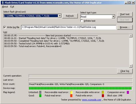 flash test usb flash drive tester