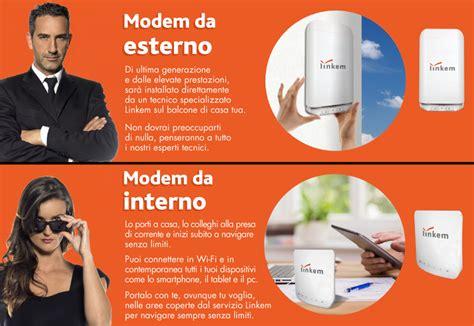 linkem modem esterno o interno linkem rikosat