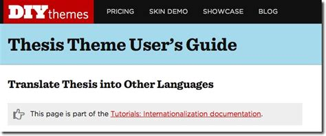 thesis in translation a guide to choosing a multilingual wordpress theme