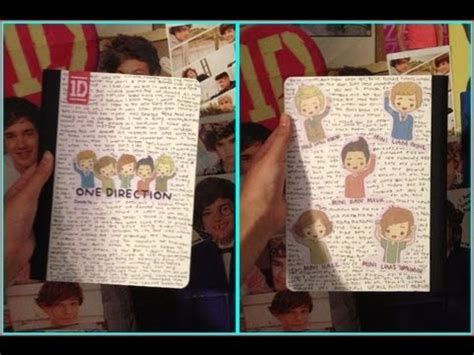 Notebook Buku One Direction diy one direction notebook