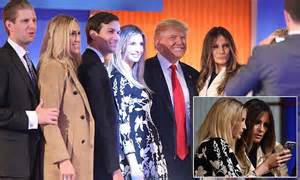 donald family pictures donald trump s family cheer him on at the republican
