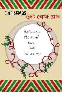 free printable christmas gift certificate templates christmas gift certificate templates christmas gift certificate templates