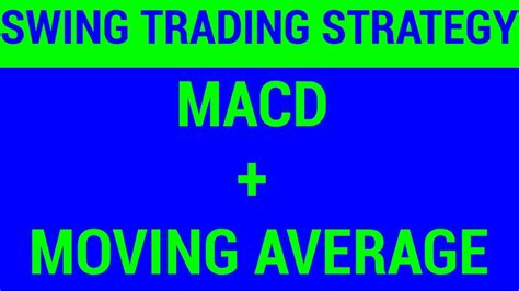 swing trading average returns swing trading strategy macd and moving average hindi