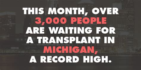 Records For Michigan Bad Record For Michigan Organ Donation Every Organ Donor