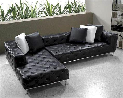 20 Inspirations Black Modern Sectional Sofas Sofa Ideas Black Modern Sectional Sofa