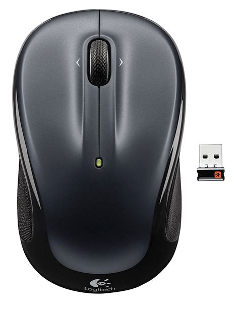 Murah Logitech M 325 Wireless Mouse Silver logitech wireless mouse m325 with designed for web