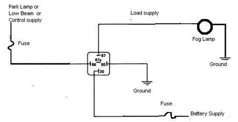 thesamba view topic wiring a 6v fog light