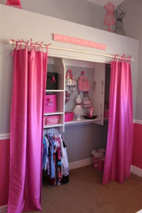 a closet 23 brilliant storage solutions for kids rooms without a