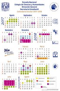 Calendario Escolar 2017 Unam Calendario Escolar