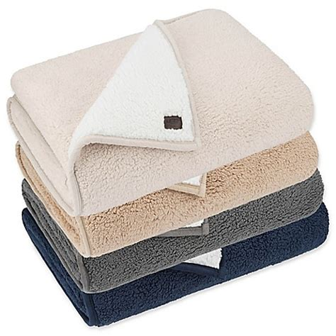 bed bath and beyond blankets ugg 174 classic sherpa throw blanket bed bath beyond