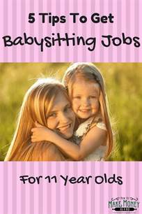 Jobs 8 Year Olds easy babysitting jobs for 11 year olds 5 quick tips