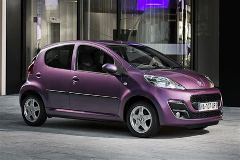 Peugeot 107 Purple Front 2012 Pictures