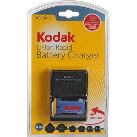 kodak battery charger kodak k8500 c 1 li ion universal battery charger kit