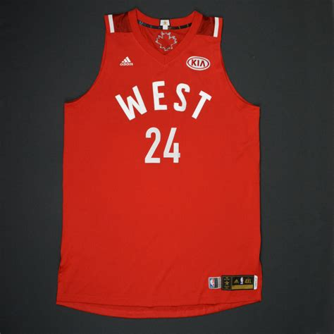 Bryant Nba Jersey bryant 2016 nba all western conference worn jersey 1st half only