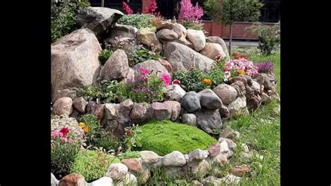 easy building a rock garden