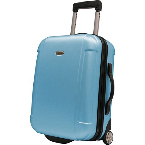 The Ultimate Cq Suitcase The Results by Travelers Choice Freedom 21 In Hardshell Wheeled Carryon