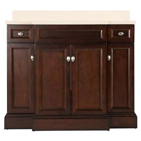 42 bathroom vanity with granite top foremost teagen 42 in w bath vanity in espresso with