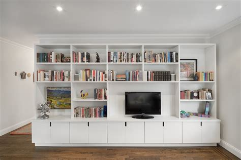 living room wall units with storage uptown apartment renovation home addition restoration