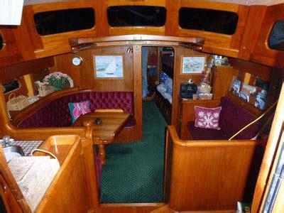 sailboat interiors  fundamentally unsuitable  offshore sailing