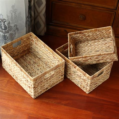 natural woodchip wall basket baskets buckets boxes kingwillow storage baskets containers natural water