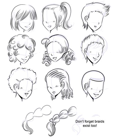 how to bread front bangs steps the way you understand how to draw manga hair can easily