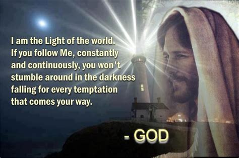 scripture about being the light jesus is the light of the scripture