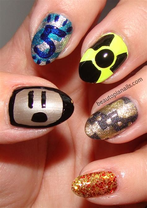 design nails game 30 cool gaming nail art ideas for gaming fans