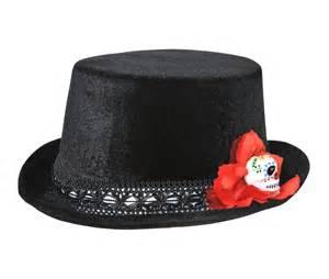 day of the dead mini top hat 348944 trendyhalloween com