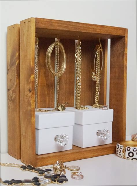 do it yourself jewelry thediydiary do it yourself jewelry display crate