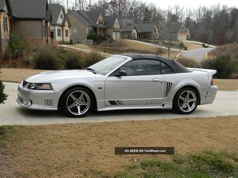 extremely 2003 convertible supercharged saleen mustang