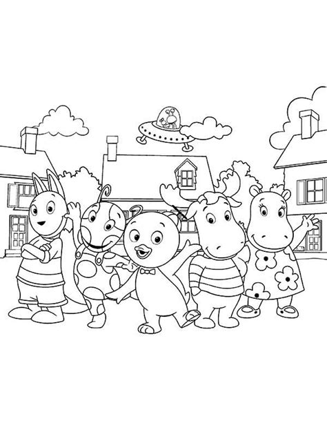 nick jr backyardigans coloring pages backyardigans coloring pages getcoloringpages com