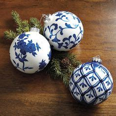 blue and white ornaments 1000 ideas about blue decor on blue