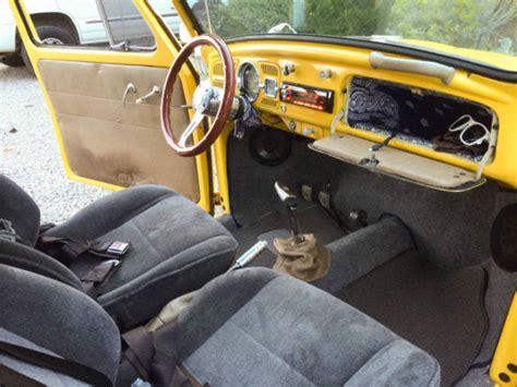 baja bug interior 1964 baja bug beetle 1600 dual port clean vw volkswagen