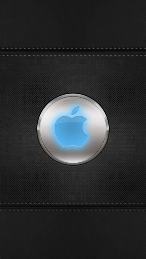 wallpaper apple for iphone 5s blue glow apple logo iphone 5s wallpaper apple ipad