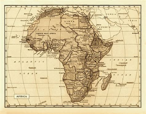 africa map vintage items similar to map of africa 18x24 quot vintage 1800s