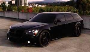 blacked out dodge magnum murdered cars