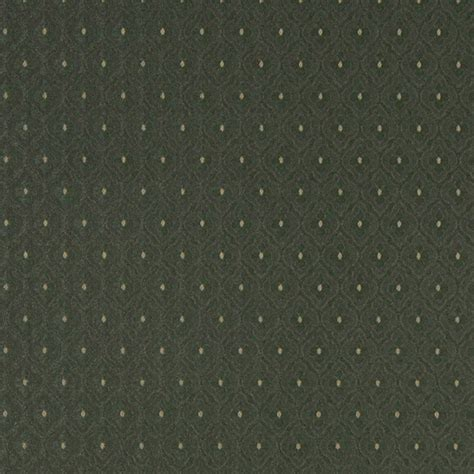 Forest Green Upholstery Fabric by A473 Forest Green Clover Leaf Upholstery Fabric By