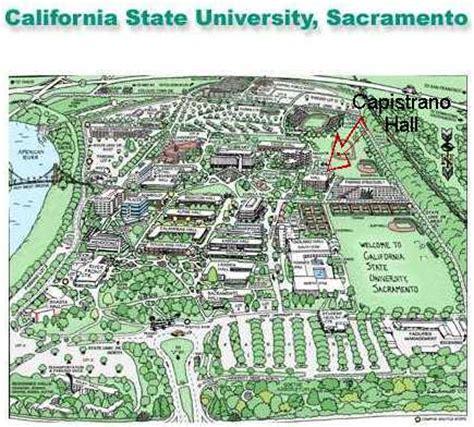 Sacramento Address Lookup Sacramento State Cus Map My